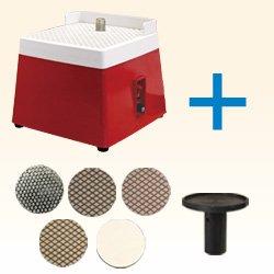 画像1: ミニグラスグラインダー&平面研磨変換ビットセット
