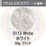 ガラスフリット50g 0113 White