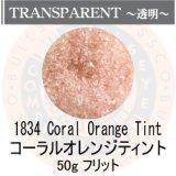 ガラスフリット50g 1834 Coral Orange Tint