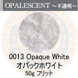 ガラスフリット50g 0013 Opaque White
